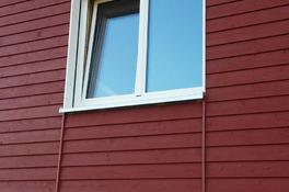 Fensterdetail Keilstülpschalung