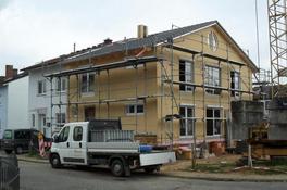 Neubau Wohnhaus in Holzrahmenbau (als Reihenendhaus)