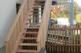 Treppe, sibirische Lärche